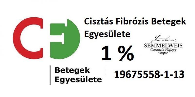Cisztás Fibrózis Betegek Egyesülete 1% adószám adományokhoz