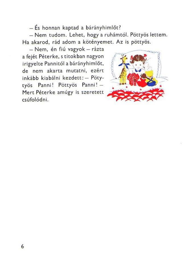 Pöttyös Panni bárányhimlős (karantén)