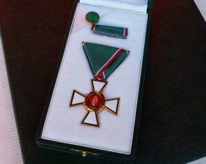 Dr. Csiszér Eszter kitüntetése